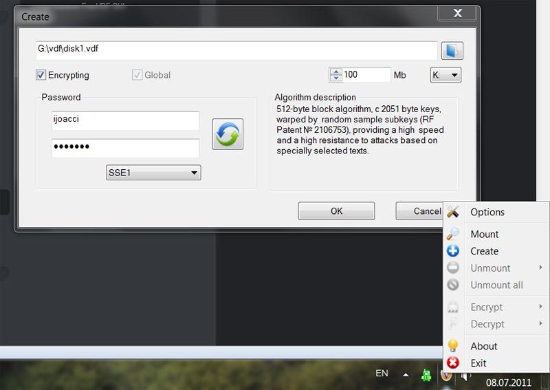 FreeVDF screenshot
